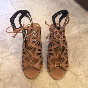 Dolce Vita Lace-up Sandals, size 8
